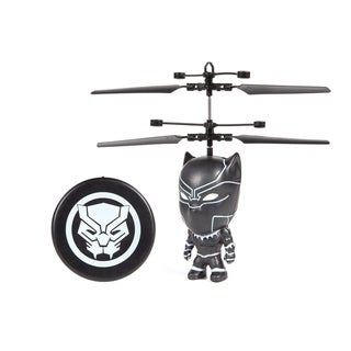 Black Panther 3.5 Inch Flying Figure UFO Big Head Helicopter