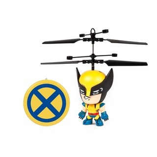 X-Men Wolverine 3.5 Inch Flying Figure IR UFO Big Head Helicopter