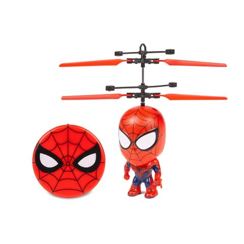 Spider-Man 3.5 Inch Flying Figure UFO Big Head Helicopter
