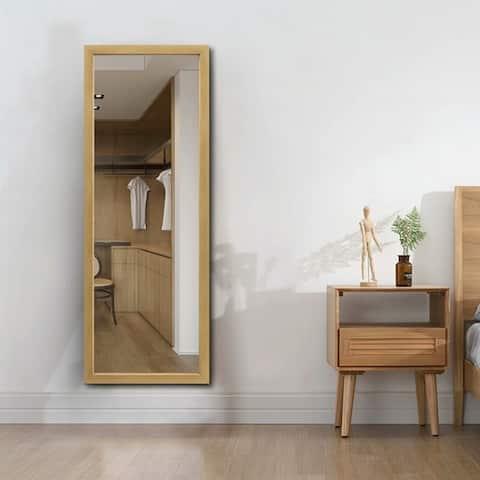 Carson Carrington Ingeby Modern Rectangular Full-length Mirror
