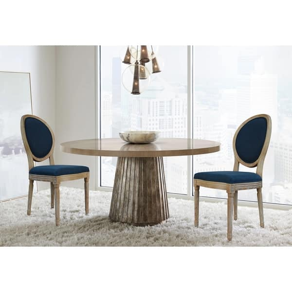 The Gray Barn Meadow View Round Back Dining Chairs Set Of 2 On Sale Overstock 30388020