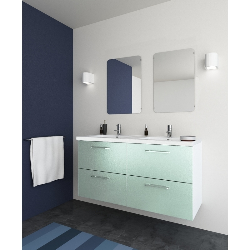 Modern Bathroom Double Sink Vanity