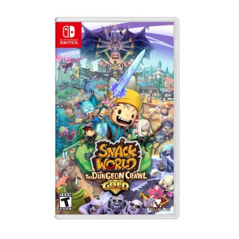 Nintendo Snack World: The Dungeon Crawl - Gold