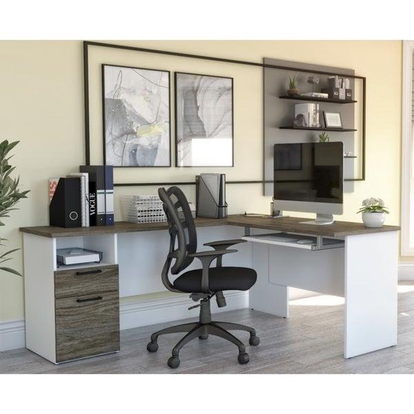 Copper Grove Neunkirchen L-shaped Desk. Opens flyout.