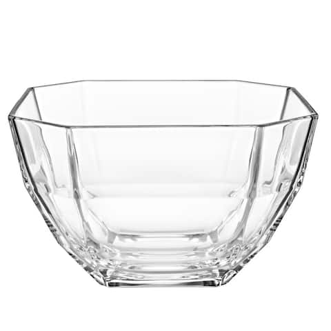 "Majestic Gifts Inc. European Glass Octagon Salad Bowl-8.5"" D"