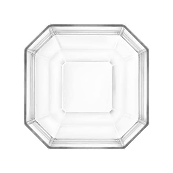 """Majestic Gifts Inc. European Glass Centerpiece Octagon Bowl/Tray-13"""" D"""