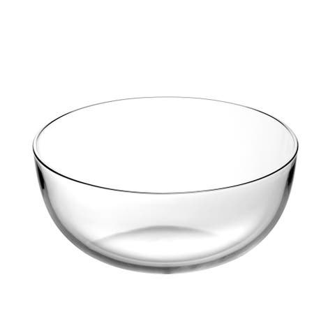 "Majestic Gifts Inc. European Glass Round Serving Bowl -11.8"" D-220 oz"