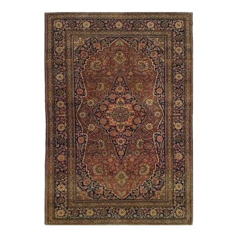 "Pasargad DC Antigue Persian Mohtesham Kashan - 4'6"" x 6'6"""