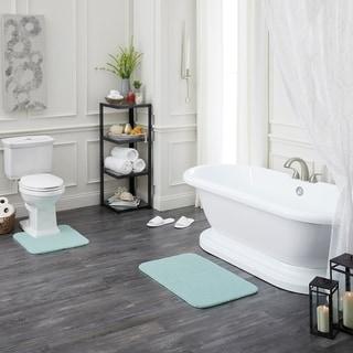 Mohawk Home Tonal Stripe Bath Rug