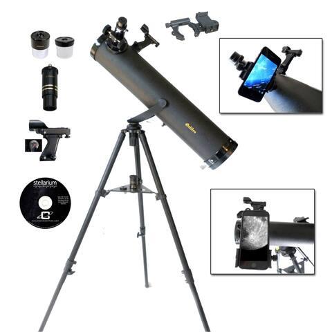 Galileo 800mm x 95mm Smartphone Photo Adapter Reflecting Telescope