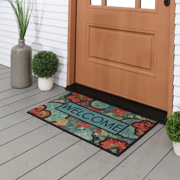 "Mohawk Doorscapes Ethereal Floral Door Mat - 1'6"" x 2'6"". Opens flyout."