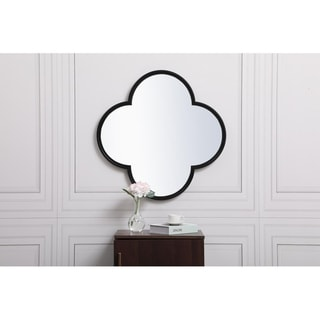 Plum Metal Framed Mirror