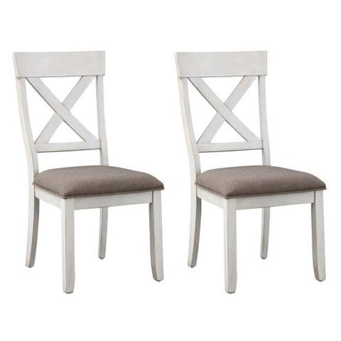 Set of 2 Bar Harbor II Dining Chairs - N/A