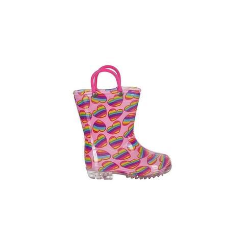 Chatties Toddler Girls Printed Rainboot