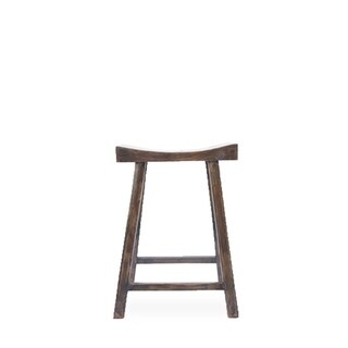 Carbon Loft Gillespie 20-inch Reclaimed Distressed Natural Elm Stool