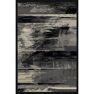 Platinium Collection Black/Antracite Area Rug