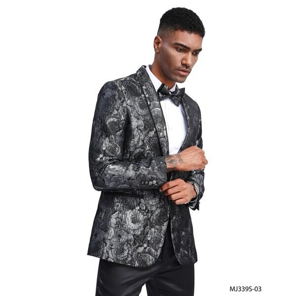 Fashion Jacket Floral Pattern Shawl Modern Fit Stylish Blazer Jackets by  Find