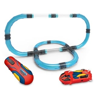 Link to Hyper Tube 65 Piece Lightning Fast Tube Racing Playset Similar Items in Toy Vehicles