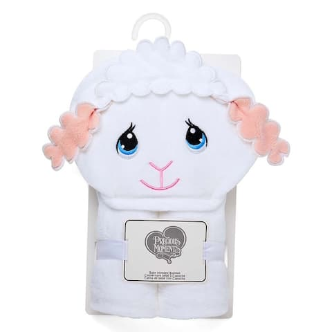 Precious Moments Hooded Baby Blanket