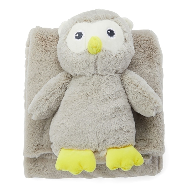Plush Baby Blanket and Matching Toy Set. Opens flyout.