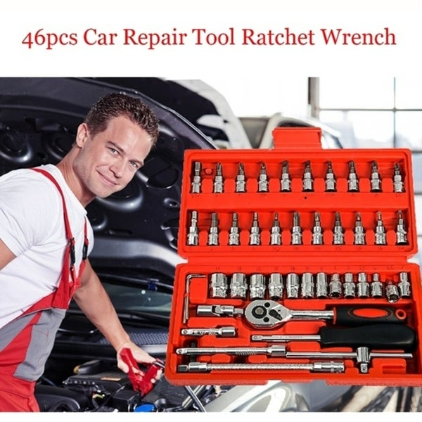 RoadPro SST070 40-Piece Socket and Bit Set with Ratchet Handle and Storage Case