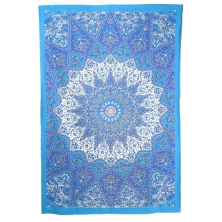 Mandala Indian Traditional Hippie Cotton Tapestry Bohemian Twin Bedspread Dorm Decor Bedding Tapestry