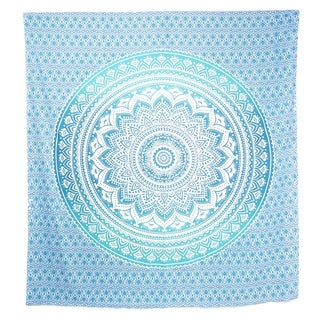 Queen Mandala Tapestry Cotton Bohemian Wall Hanging Hippie bedspread Dorm Décor