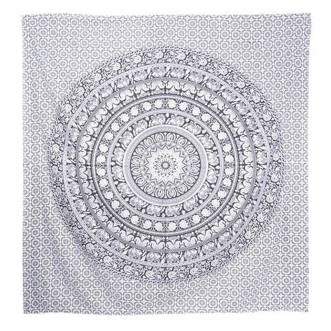 Queen Mandala Tapestry Cotton Bohemian Wall Hanging Hippie bedspread Dorm Décor