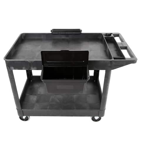 Outrigger Utility Cart Bin 2-Pack With Lids