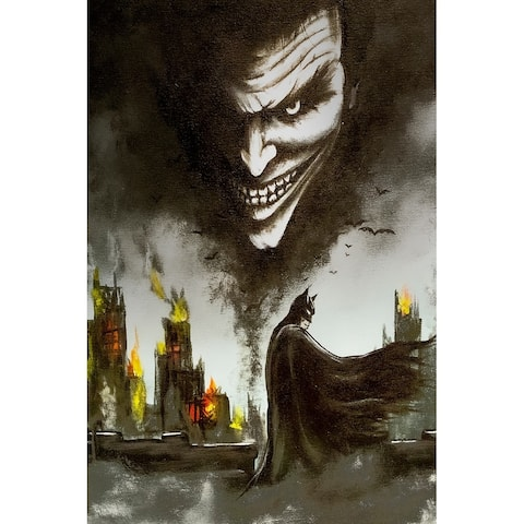 Gotham Part II by Ed Capeau Giclee Art Painting Reproduction POD