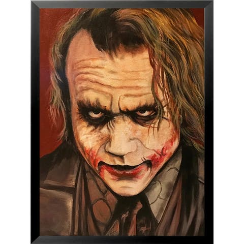FRAMED Joker II by Ed Capeau Art Painting Reproduction