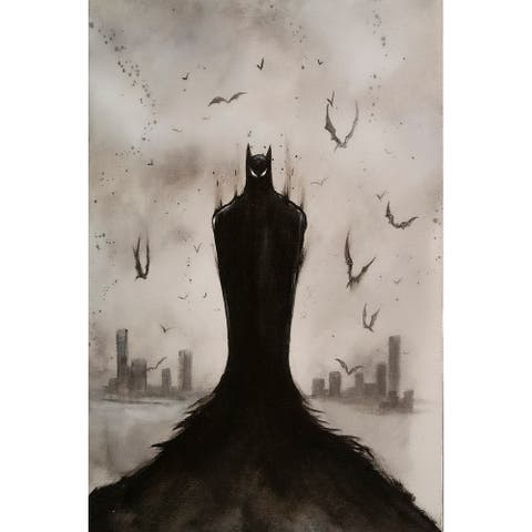 Gotham Part III by Ed Capeau Giclee Art Painting Reproduction POD