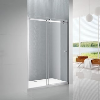 Primo 6mm Tempered Glass Sliding Shower Door with Knob Handle