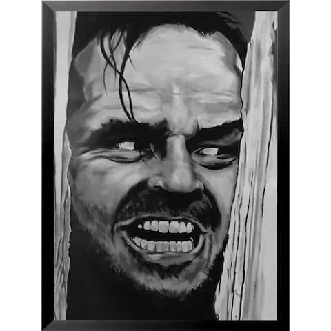 FRAMED Here's Johnny by Ed Capeau Art Painting Reproduction