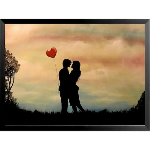 FRAMED Young Love by Ed Capeau Art Painting Reproduction