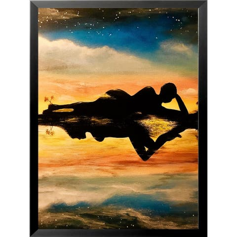 FRAMED Self Reflection by Ed Capeau Art Painting Reproduction