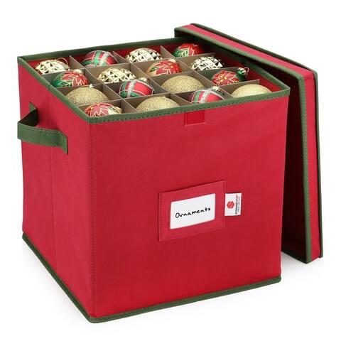 StorageMaid Christmas Ornament Storage Box