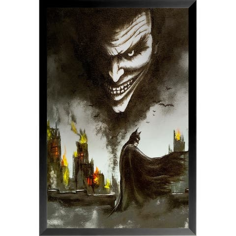 FRAMED Gotham Part II by Ed Capeau Art Painting Reproduction