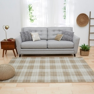 Link to Mohawk Studio Farmhouse Plaid Area Rug Similar Items in Transitional Rugs
