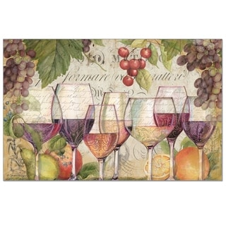 Paper Placemats Set of 24 - Wine Country