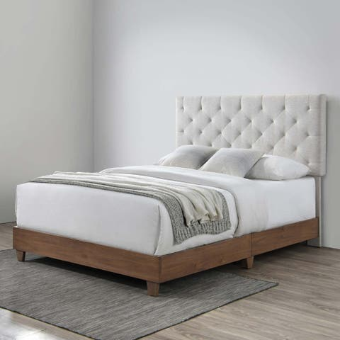 Copper Grove Buonma Tufted Upholstered Queen Bed