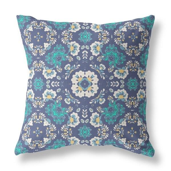 Love and Life and Liberty Broadcloth Pillow by Amrita Sen