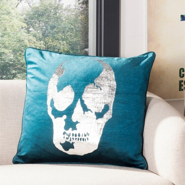 "Safavieh 20"" Romey Skull Pillow"