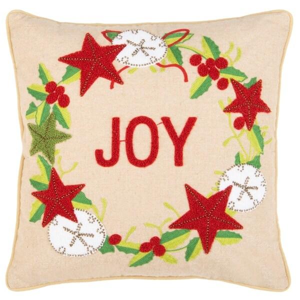 """Safavieh 20"""" Jolly Joy Pillow"""