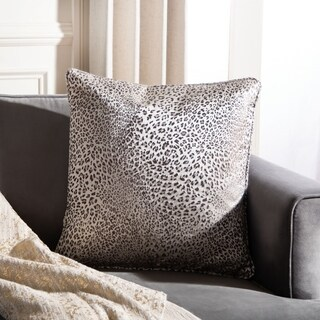 "Safavieh 18"" Tahlia Leopard Pillow"
