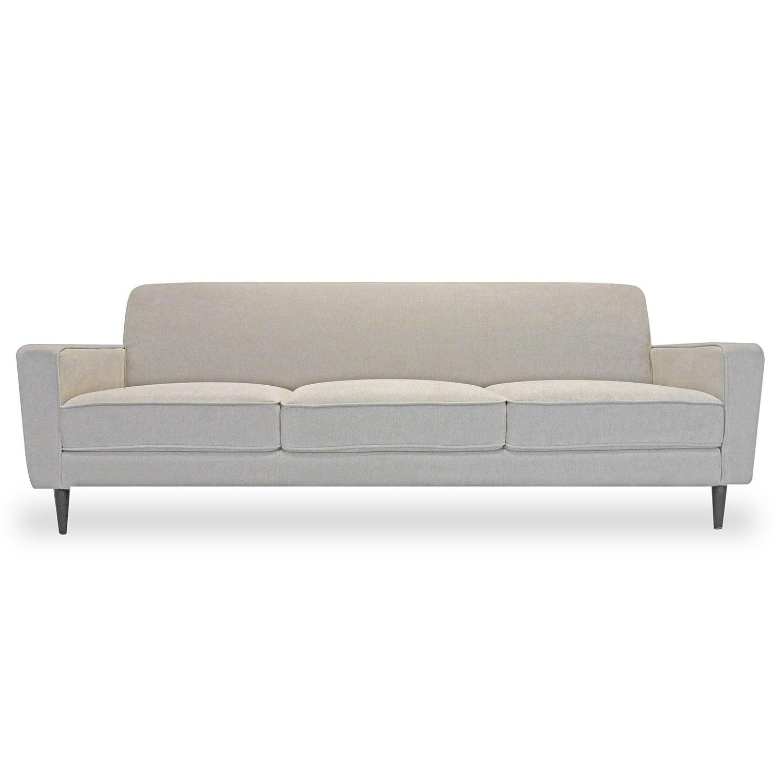 Harmony Mayfair Taupe Velvet Sofa