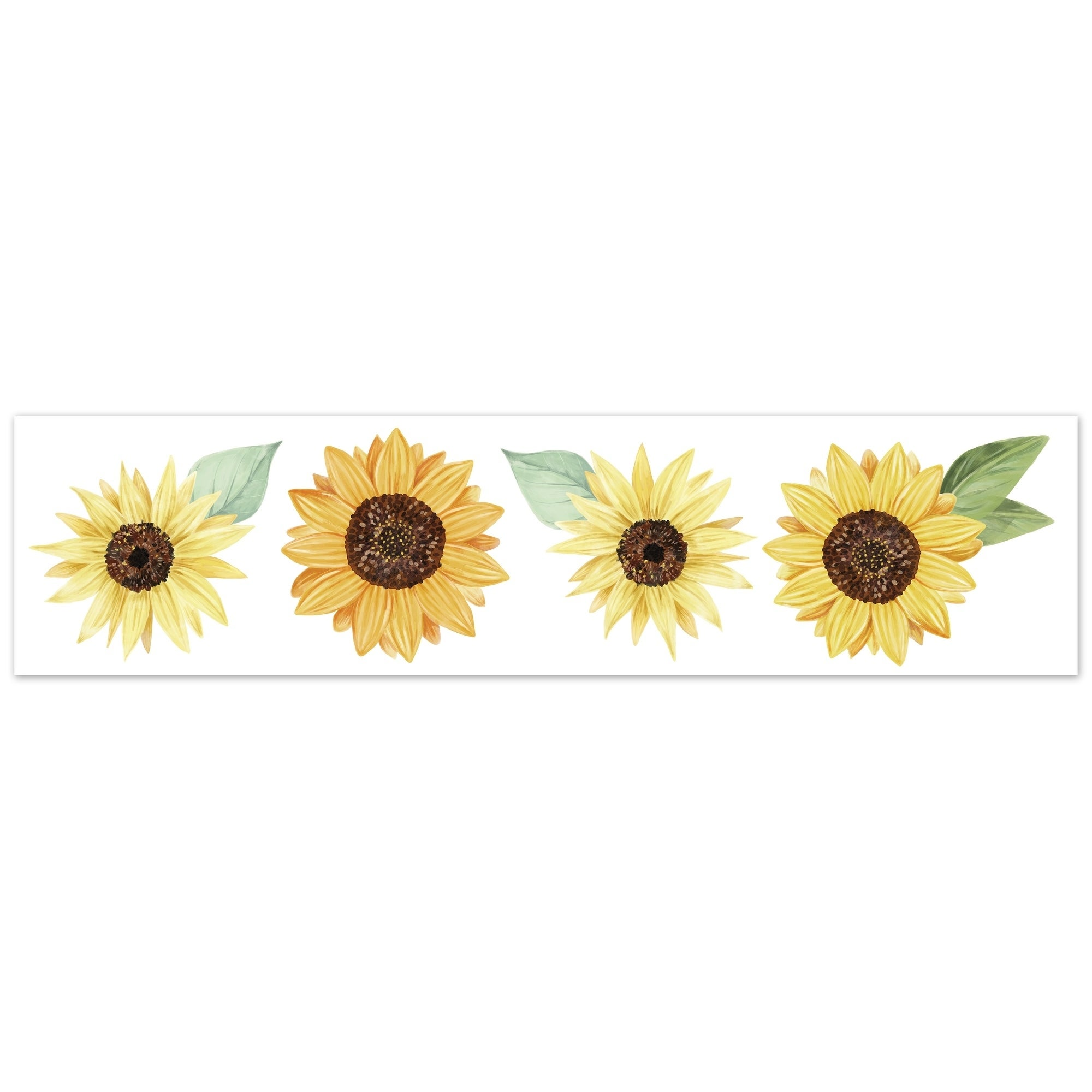 Shop Sweet Jojo Designs Floral Sunflower Collection Wallpaper Wall