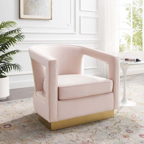 Frolick Performance Velvet Armchair