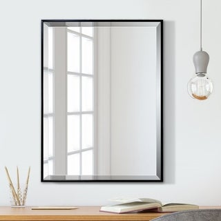 Treehaven Slim Modern & Contemporary Beveled Venetian Wall Mirror 24''X 32''