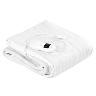 Link to Electric Heated Mattress Pad Safe Blanket 8 Temperatures &Timer - White Similar Items in Mattress Pads & Toppers